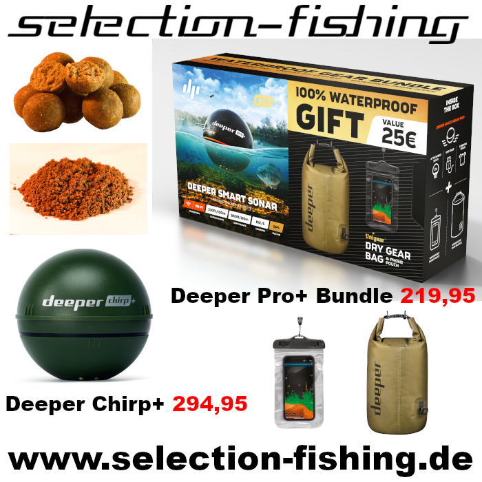 Werbeanzeige Selection Fishing - Zuhause am Strom – Taktik. Tackle.