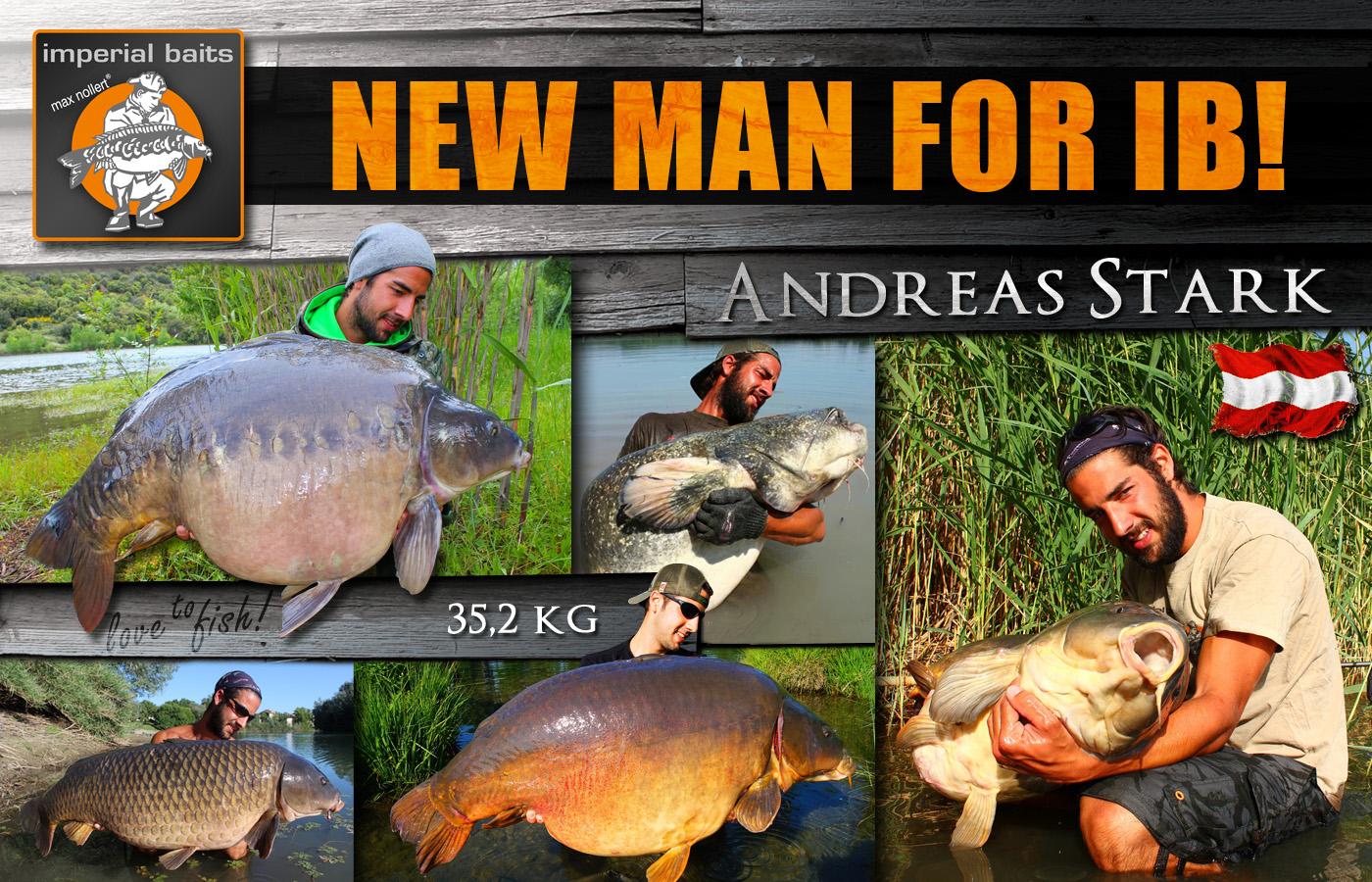 andy stark teamvorstellung - NEW IB MAN: Andreas Stark