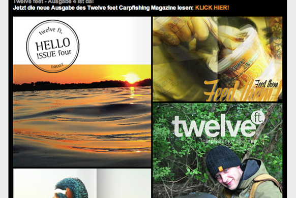 twelveft -  - Newsletter, news, max nollert, karpfenangeln, imperial fishing, Geoff Anderson, carptrack, boilies