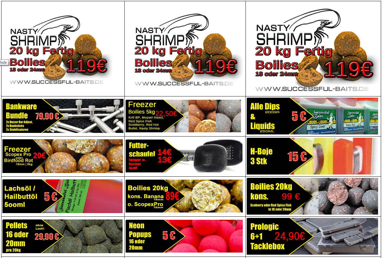 kickoff - Successful-Baits - Messepreise online!