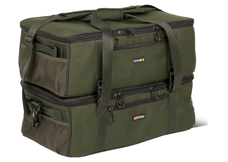 zusammen chub -  - zweiteilig, perfektes packmaß, medium, large, innovativ, geringes gewicht, flache carryalls, dreiteilig, chub, barrow bags