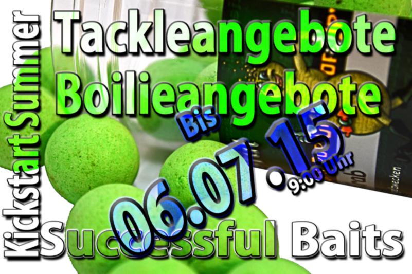 Dicke Sommerangebote bei Successful-Baits | twelve ft ...
