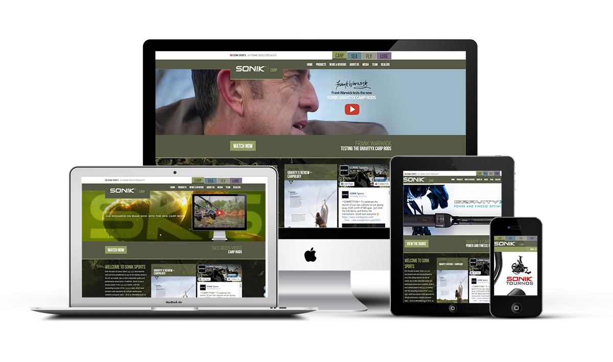 sonik - Neu im web: SONIK Sports