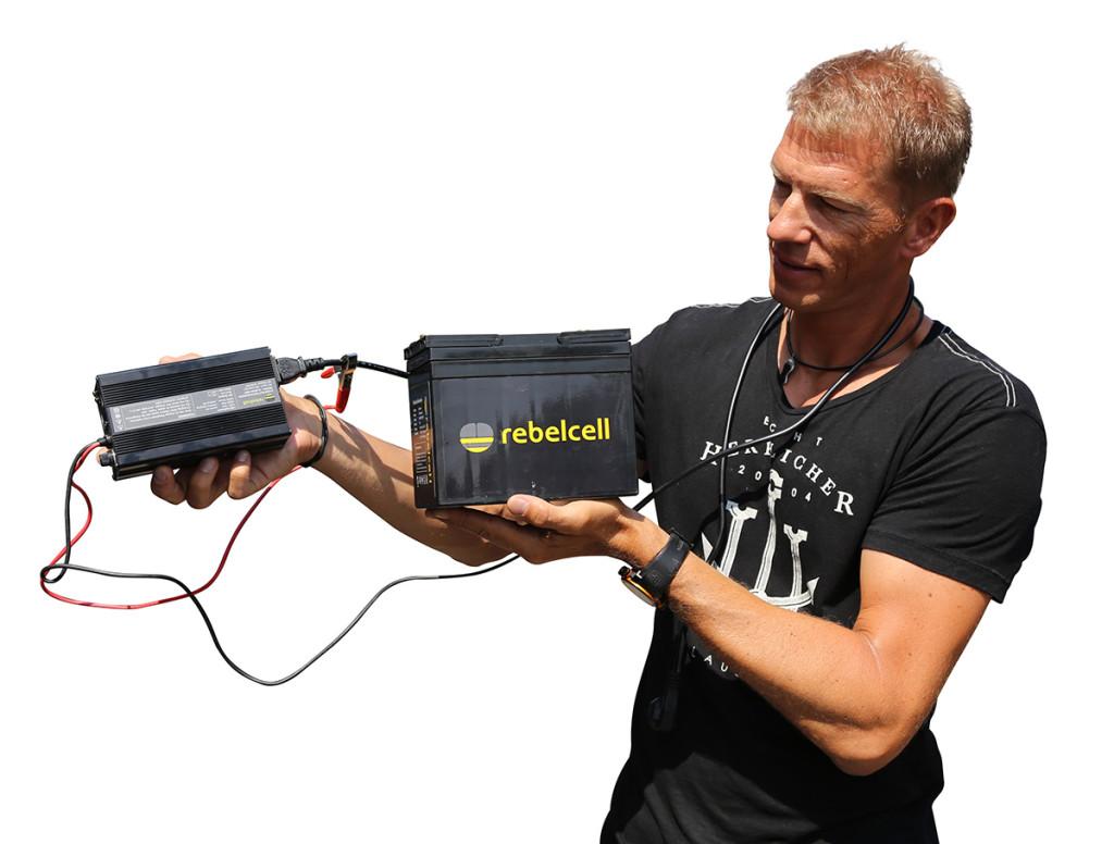 rebelcell liion batterie charger max 1024x776 -  - Rebelcell, max nollert, LI-Ion, karpfenangeln, imperial fishing, Energie, Bootskarpfenangeln, Bleigel, Batterie, Akku