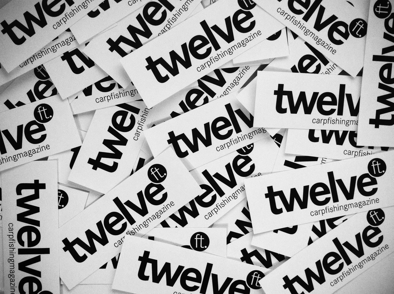 Aufkleberklein - twelve ft. Aufkleber for freeee!