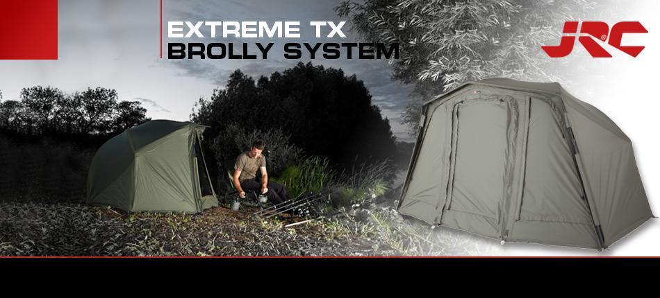 Web Extreme TX Brolly 2 -  - TX, System, Stabilität, Leichtbau, JRC Brolly, JRC, Flexibilität, Extreme TX, brolly