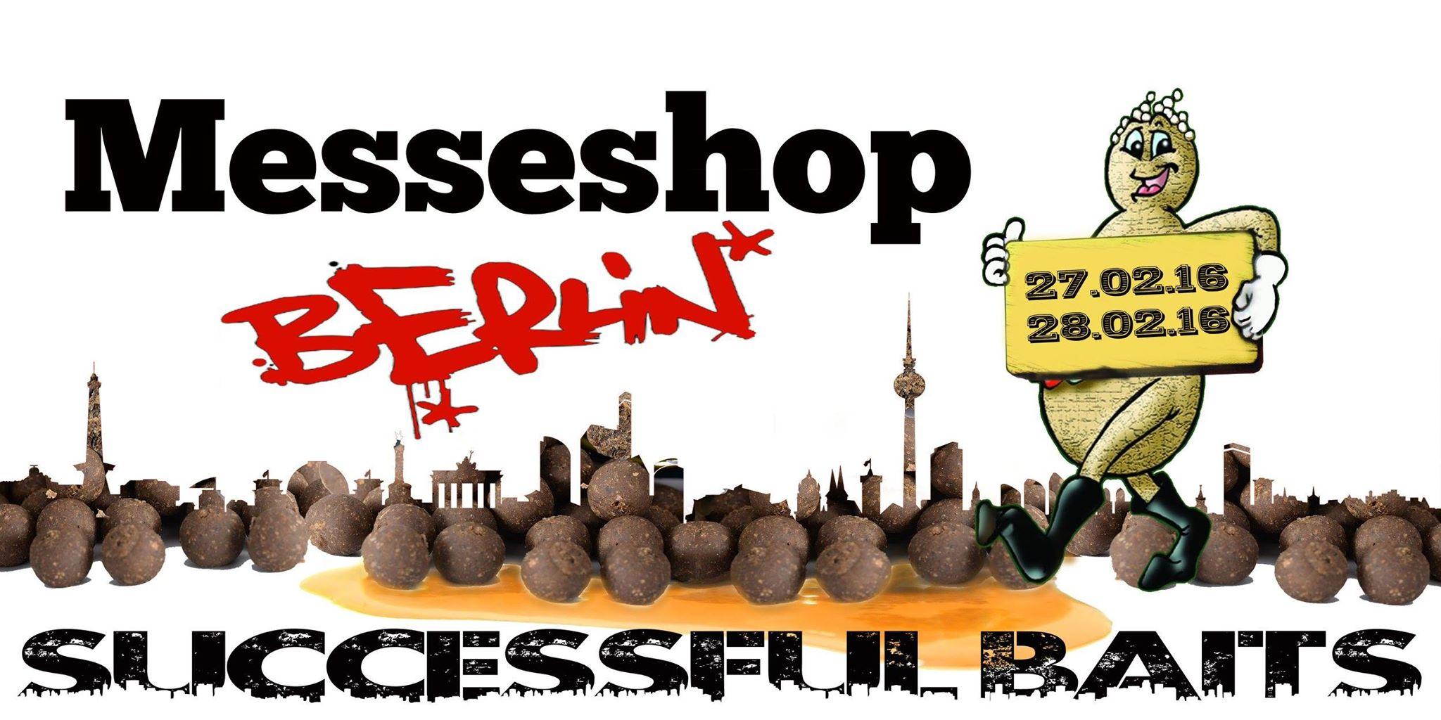 Messeshop Berlin - Successful Baits bringt Futter mit!