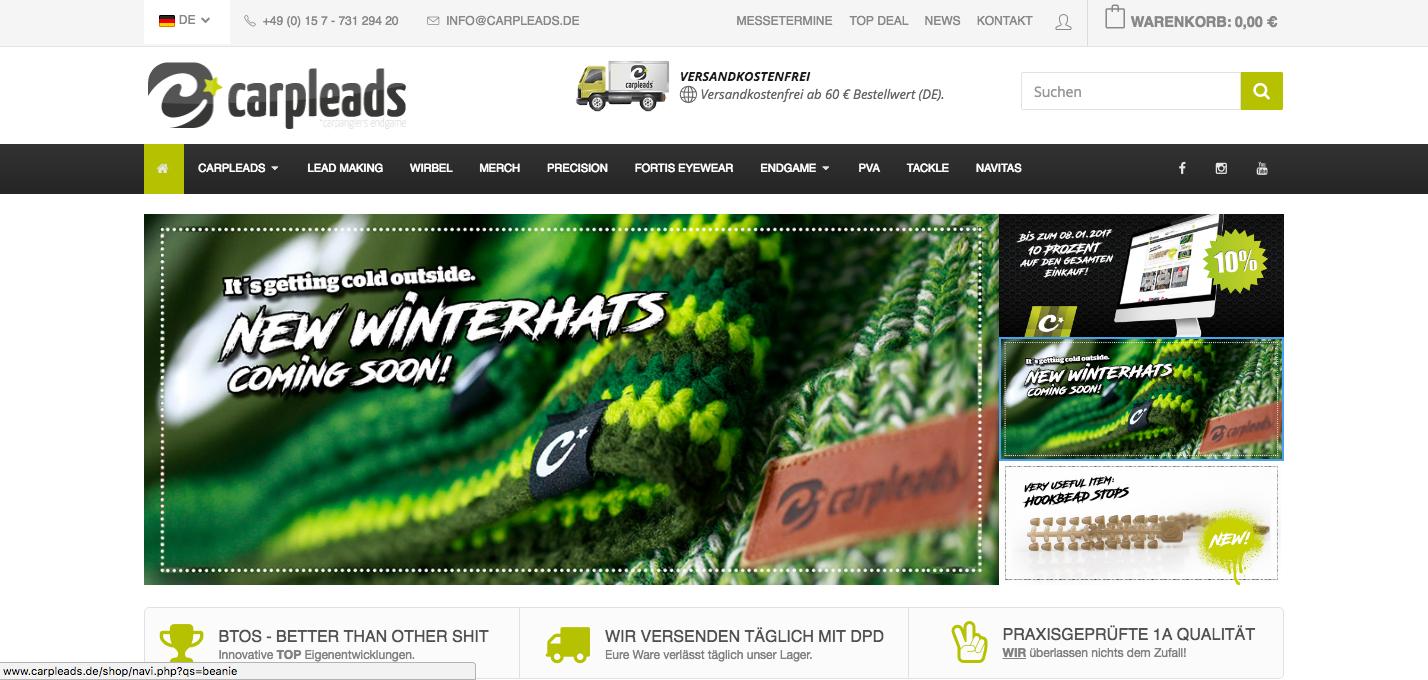 Bildschirmfoto 2017 01 03 um 10.42.36 - Neue Produkte und 10% Off bei Carpleads