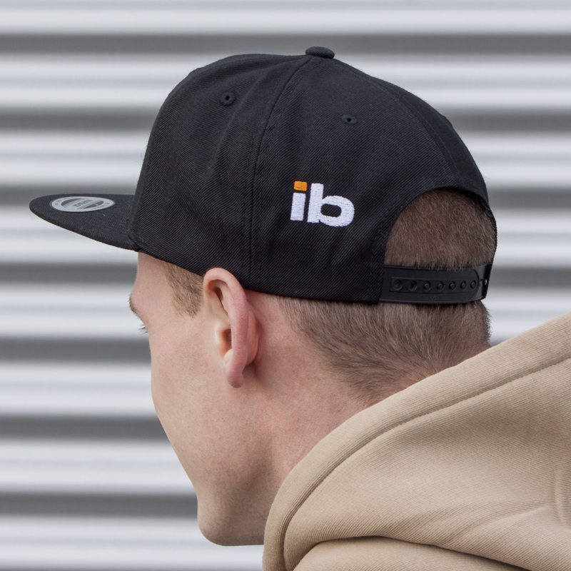 20170127 IB Snapback Cap hinten 2 -  - the art of the bait, Style, Snapback, Imperial-Baits, IB, cool, cap