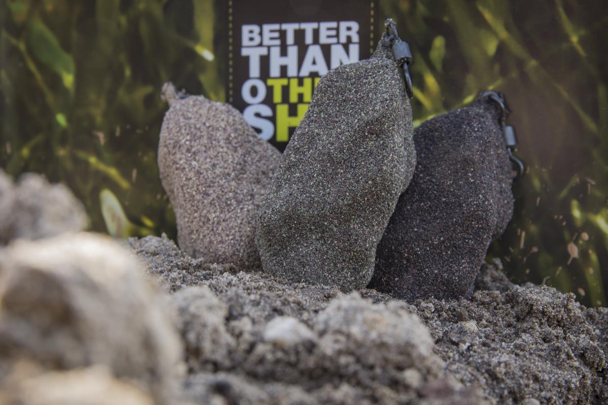 Foto 4 -  - weedy green, Verarbeitung, Test, Tarnung, Stonez leads, StoneZ, speckled brown, pure sand, Hakeffekt, Design, Carpleads.de, Carpleads, Bleie, 12 ft. Test