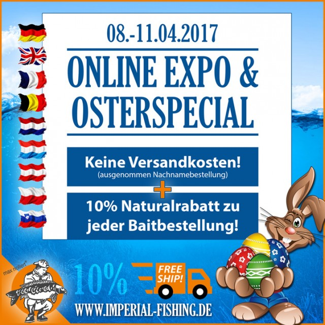 Osterspecial Online Expo DE 719 640x640 - Imperial Fishing legt Eier ins Nest!