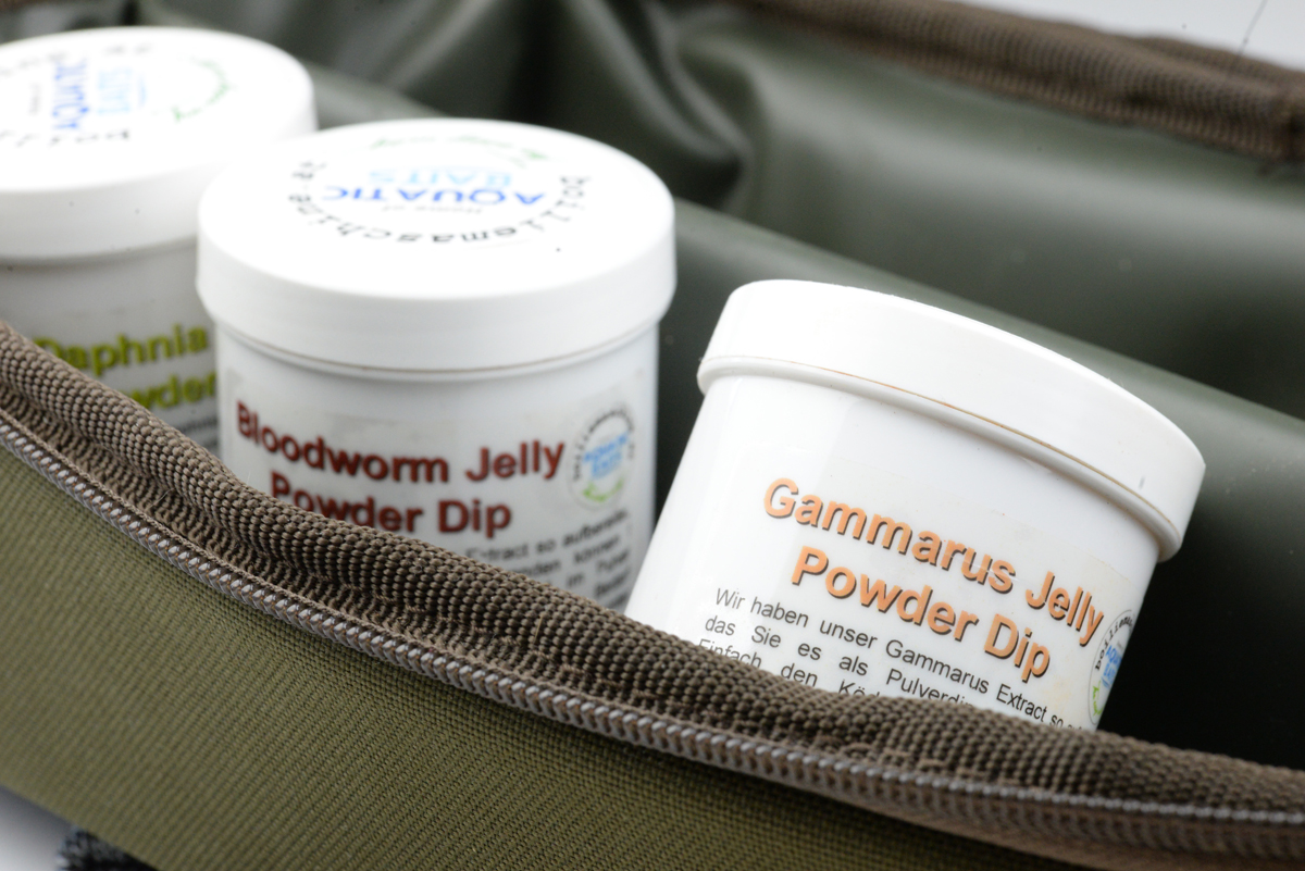 DSC 7185 - Jelly Powder Dips von Aquatic Baits