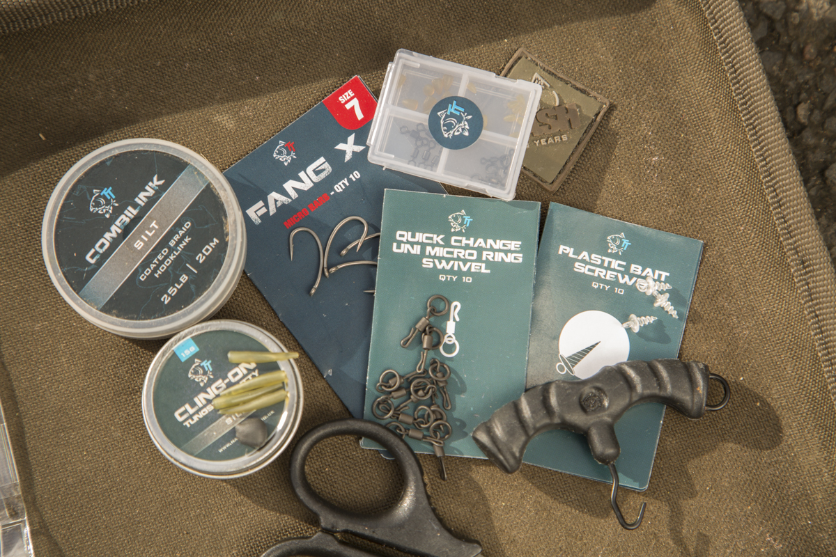components -  - Rig, Nash Tackle, nash, Max Hendry, Das Ronnie Rig, Anleitung
