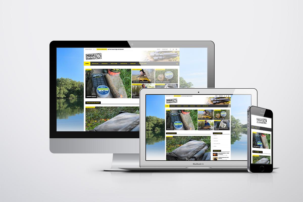 mika screen - MIKA mit neuer Webseite am Start