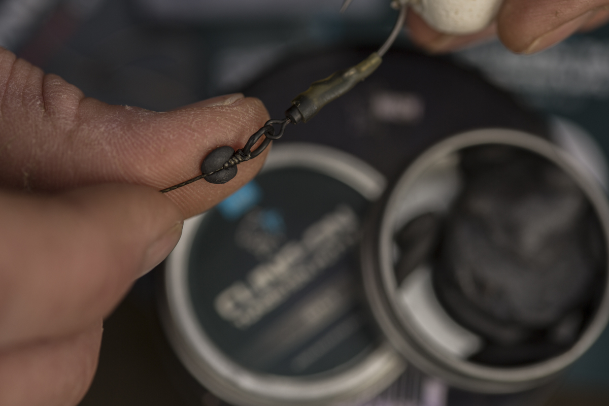 step 9 -  - Rig, Nash Tackle, nash, Max Hendry, Das Ronnie Rig, Anleitung