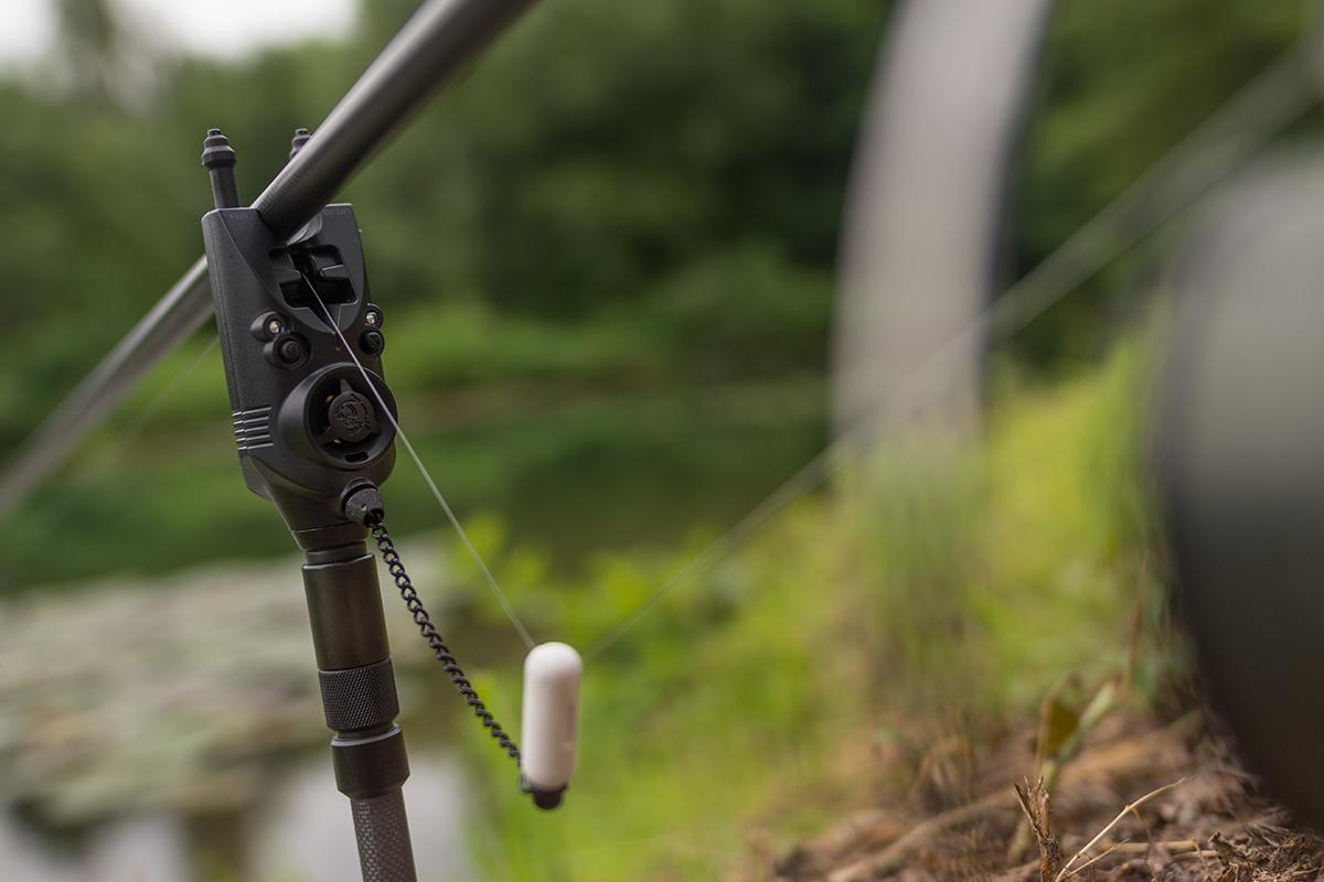 Gerne fischen wir einzelne Ruten abseits! Dank 1:1 Übertragung und spezieller Diodenkodierung ist man immer schnell Herr der Lage.