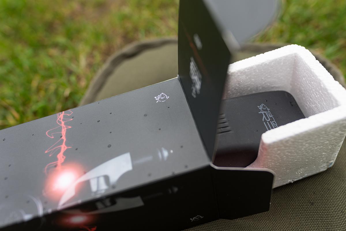 DSC0023 -  - Testartikel, Receiver, Nash Tackle, Nash Siren R3, nash, Funkbissanzeiger, Bissanzeiger, 12 ft. Test