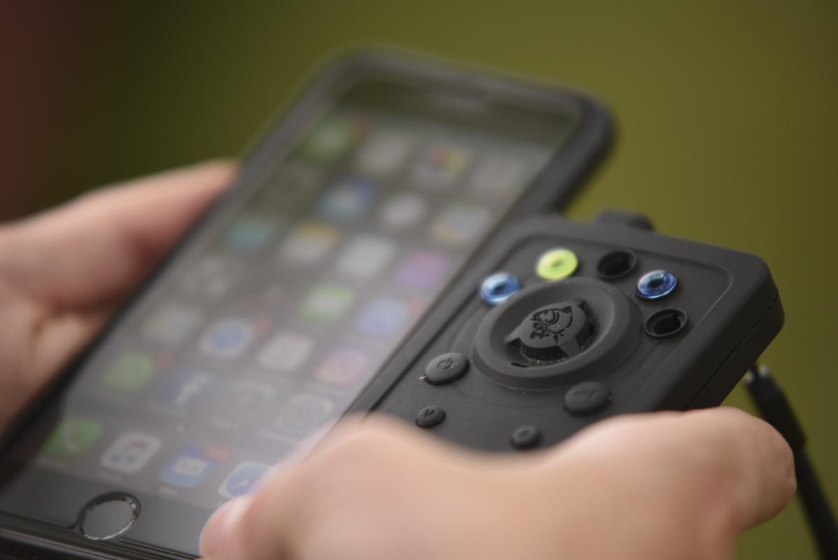 Smarter als das Smartphone! Fetter Pluspunkt für den Receiver!