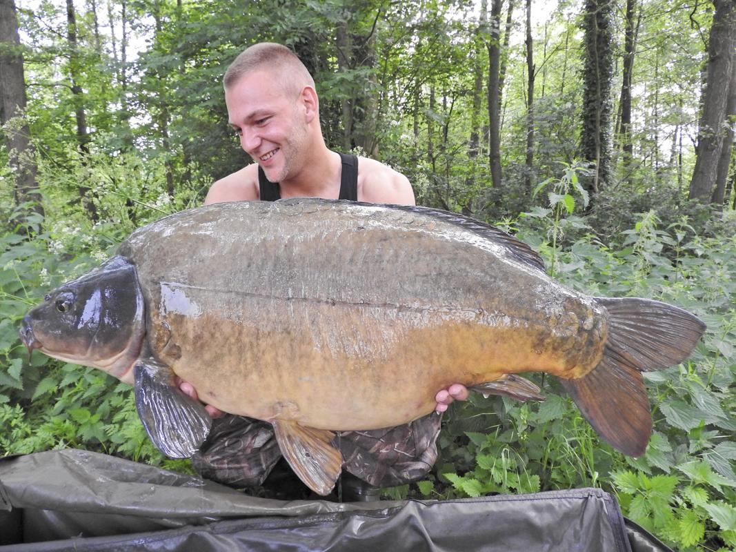 Ein weiterer Spiegler mit deutlich über 15 Kilo - Fangrausch - von Steven Greif