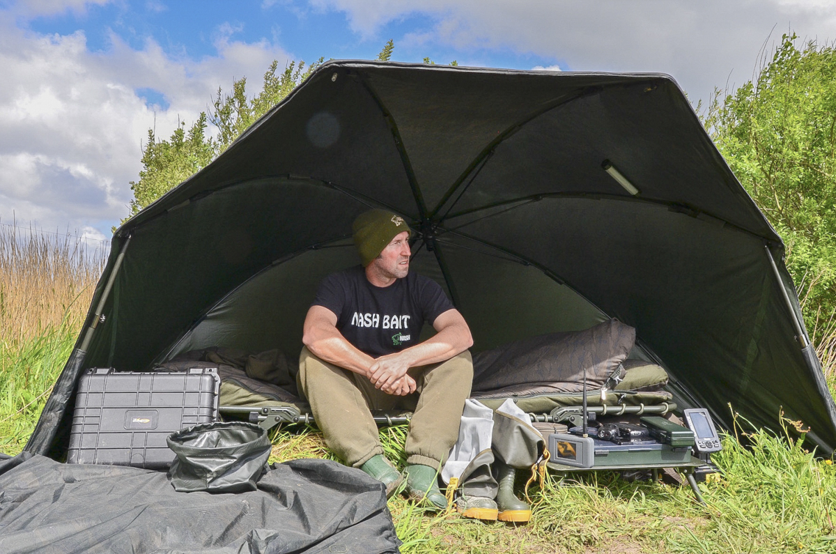 Schützt nicht nur vor Regen, sondern auch vor Sonne und Wind.