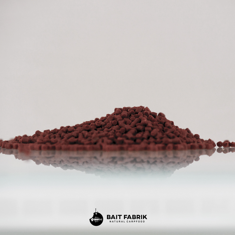 20170809 Red HB Premium Select 2mm -  - Red Halibut, Pellets, Mais Pellets, Hanf Pellets, Halibut Pellets, Baitfabrik