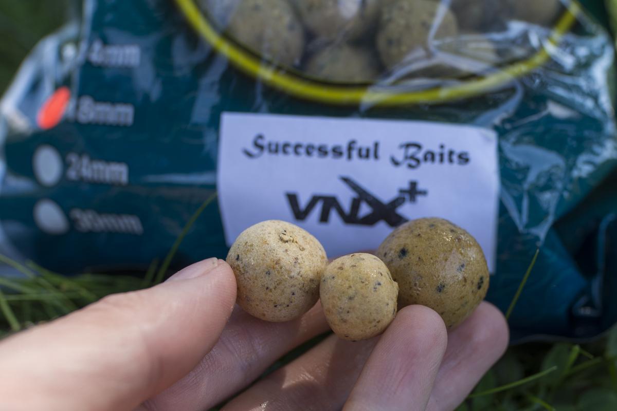 Die VNX+ Wafter von Successful Baits sind in 16, 20 und 24 mm erhältlich!