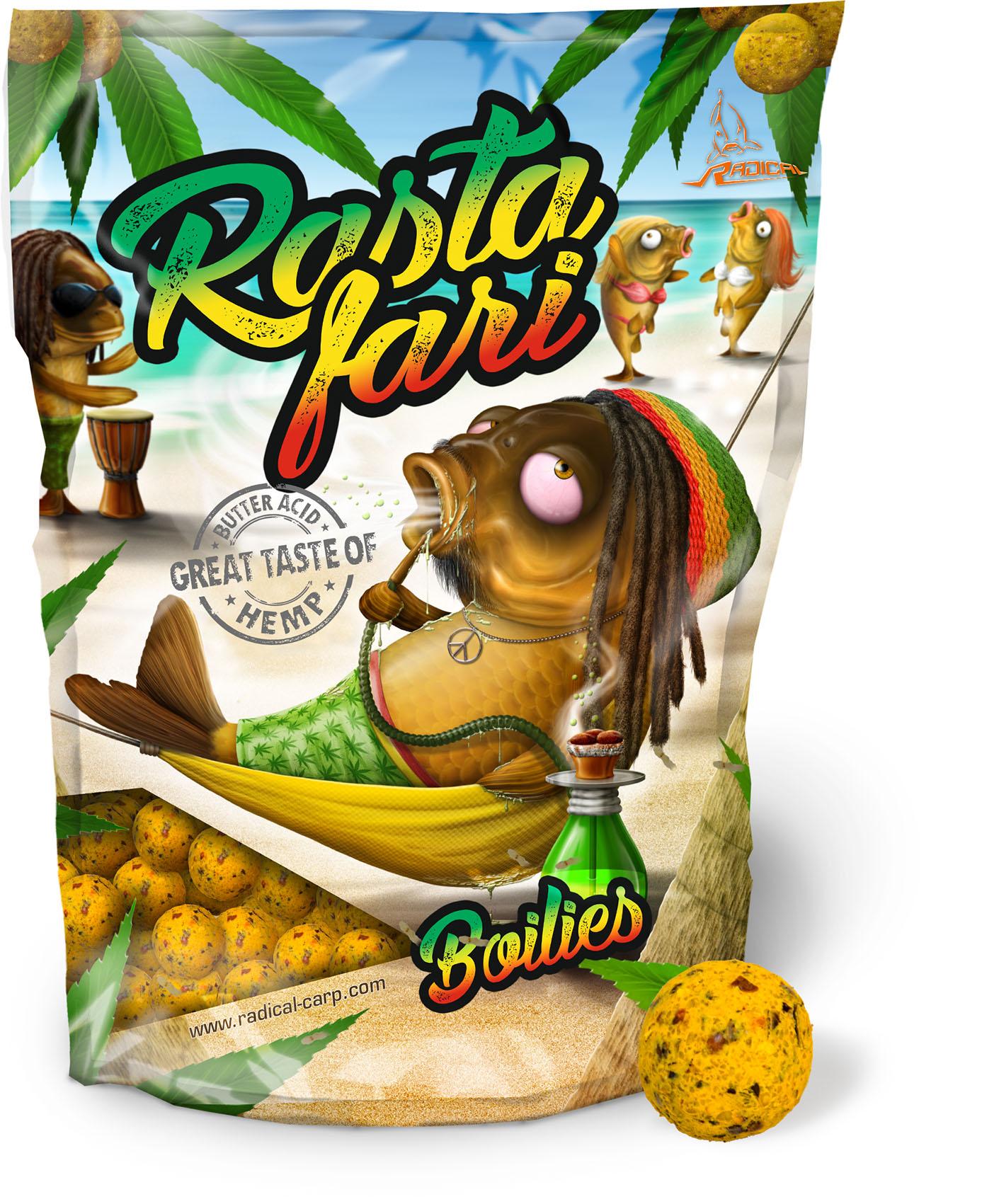 Bald erhältlich: Die Rastafari Range von Radical!