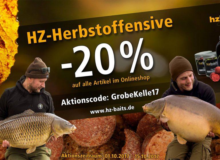 HZ baits 770x560 - Zeit für grobe Kelle! - Herbstangebot bei HZ-Baits