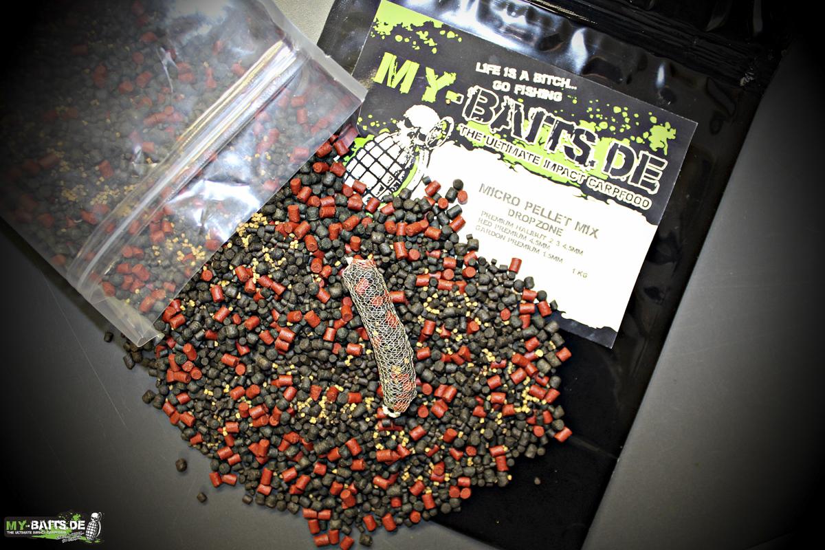 Micro Pellet Mix - Eines von vielen spannenden Produkten bei My Baits!