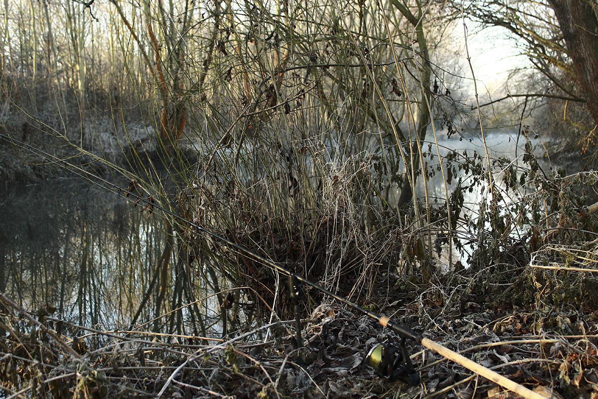 Ein Fluss ist die erste Wahl  -  - Winterangeln, Tipps und Tricks, Nash Tackle, nash, frozen, Daniel Konopatzki