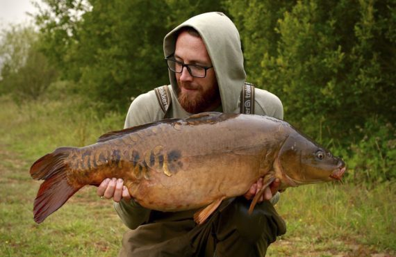 A lovely Autumnal fish for Dan Whitford on the squid soup 570x370 - The Squid Soup! - von CC Moore