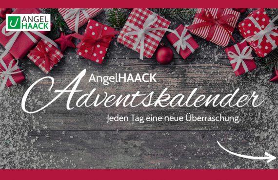 Angelhaack Adventskalneder 1 570x370 - Jeden Tag eine Überraschung! - Im AngelHAACK Adventskalender