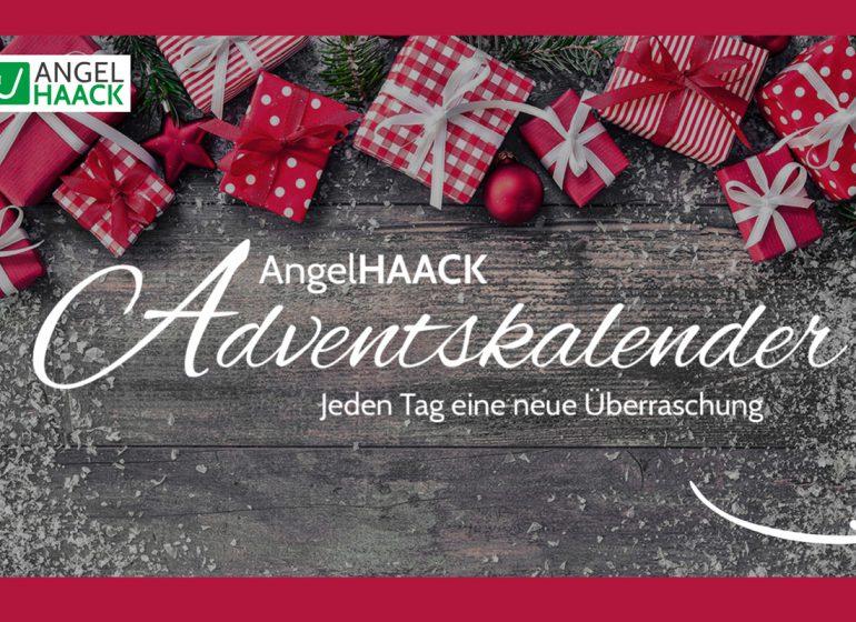 Angelhaack Adventskalneder 1 770x560 - Jeden Tag eine Überraschung! - Im AngelHAACK Adventskalender