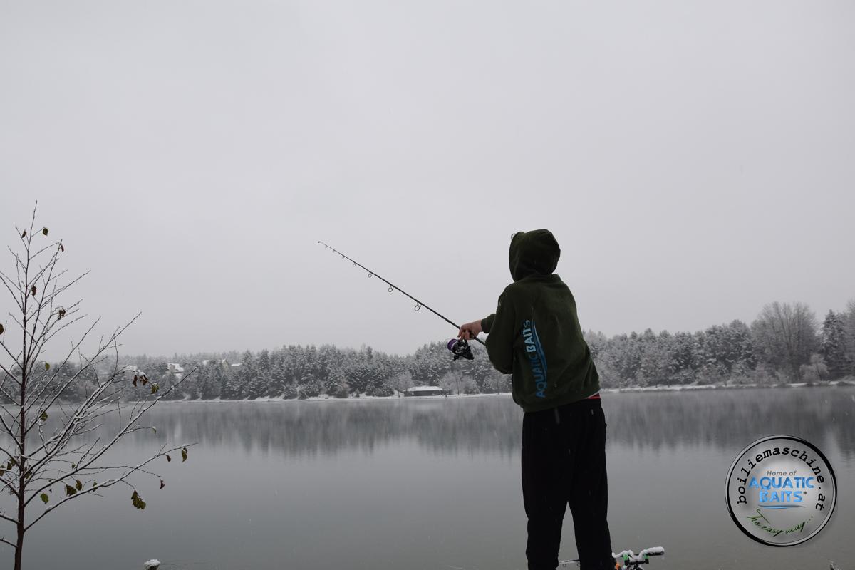 DSC 1405 -  - Winterangeln, österreich, Karpfen im Winter, Fishing, Carpfishing, Baits, Aquatic Baits, Abenteuer