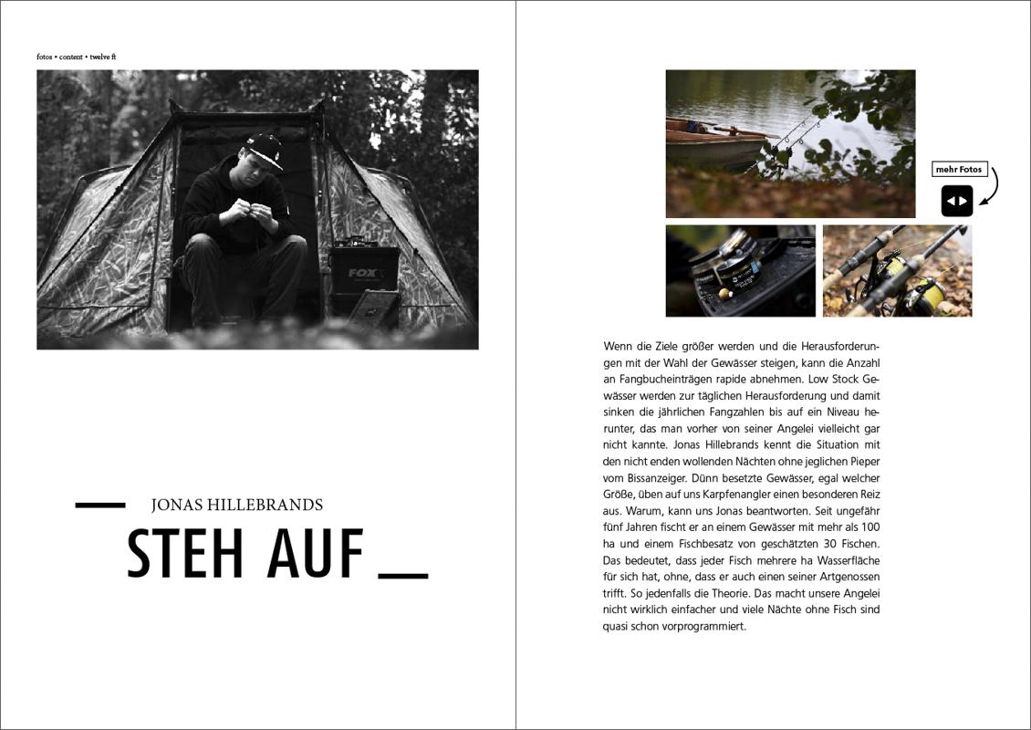 Jonas Hillebrands -  - twelve ft. Ausgabe 12, twelve ft., Spirit, karpfenangeln, Freiheit, Aufstehen, Am Boden, Abenteuer