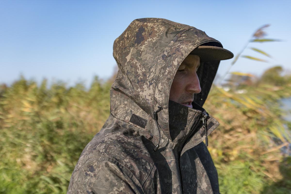 Die Kapuze schützt bei jedem Wetter!