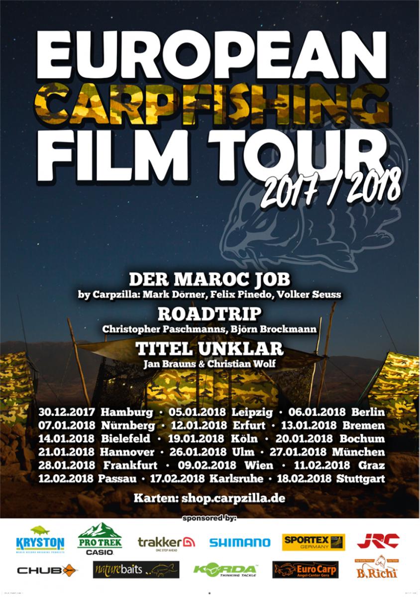 Programm -  - Spirit, marokko, Kinotour, Kino, Keepthespirit, karpfenangeln, Film, carpzilla, Carpfishing