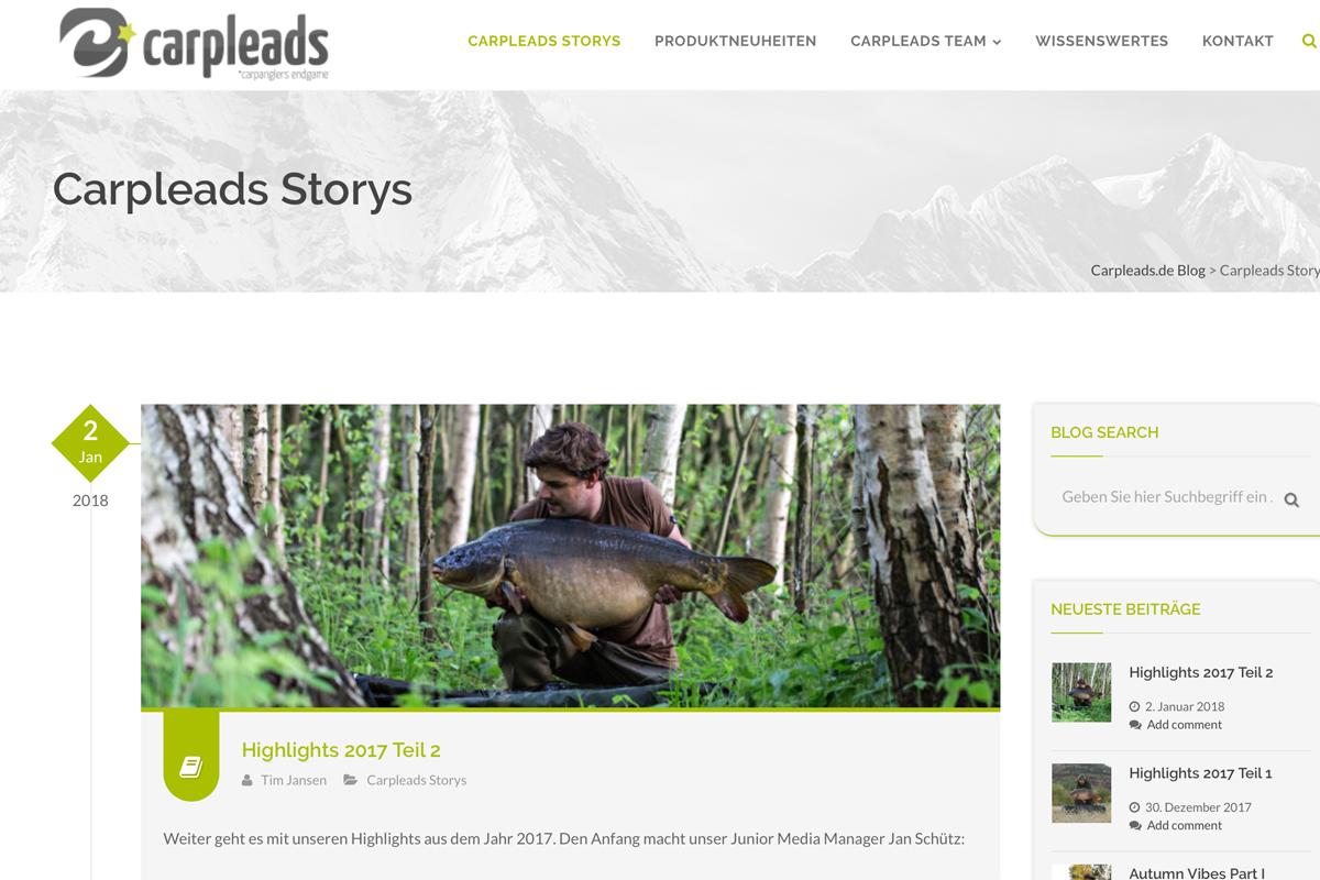 Carpleads Blog - Regelmäßig coole Stories! Kennt ihr diesen Blog schon?