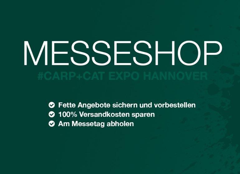 Messeshop Hannover SB 770x560 - Carp & Cat Expo: Messeshop nutzen, Futter sichern & sparen!