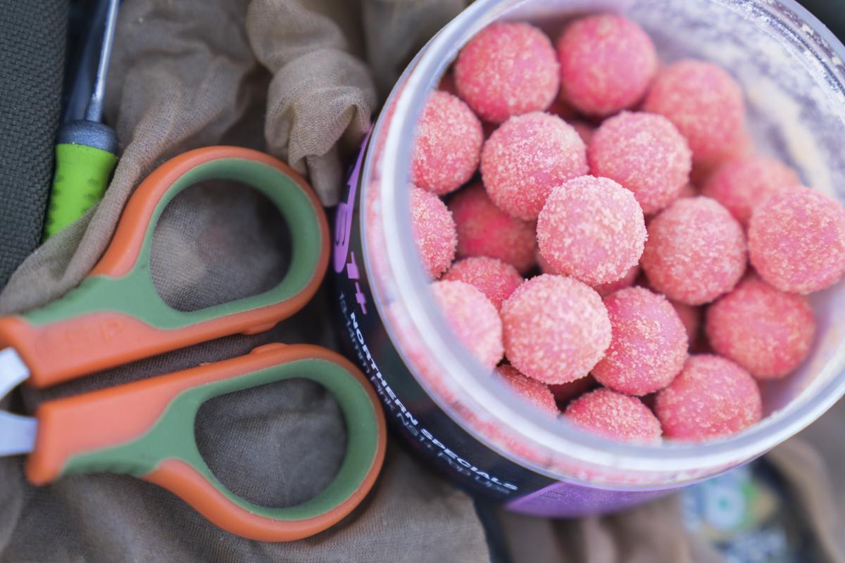 7 1 -  - Single Hookbaits, Powder, Pop-ups, kaltes Wasser, Fruit, Farben, CC Moore