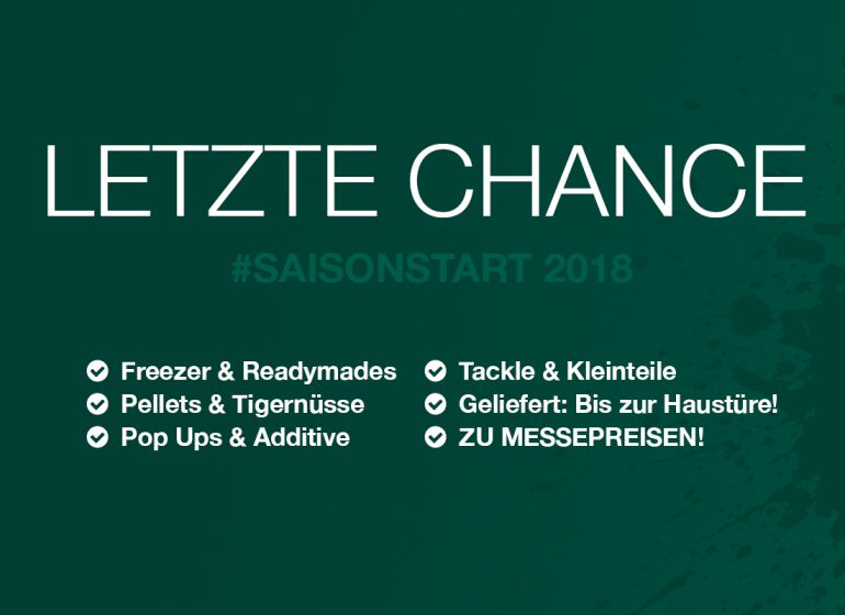 Newsletter Onlinemesse Letzte Chance 770x560 - Letzte Chance: Successful Baits Onlinemesse endet
