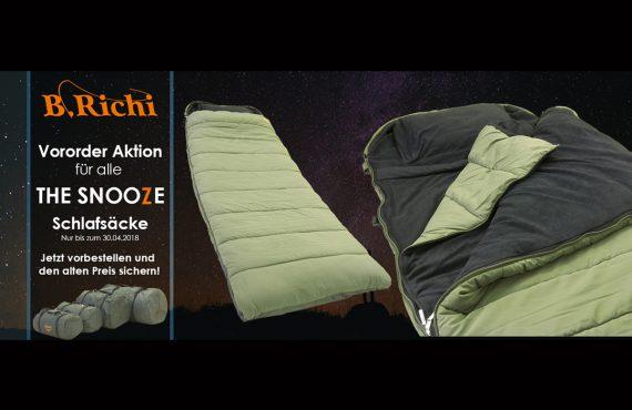 Titelbild neu 570x370 - Mit Vororder sparen! - Snooze Sleeping Bag