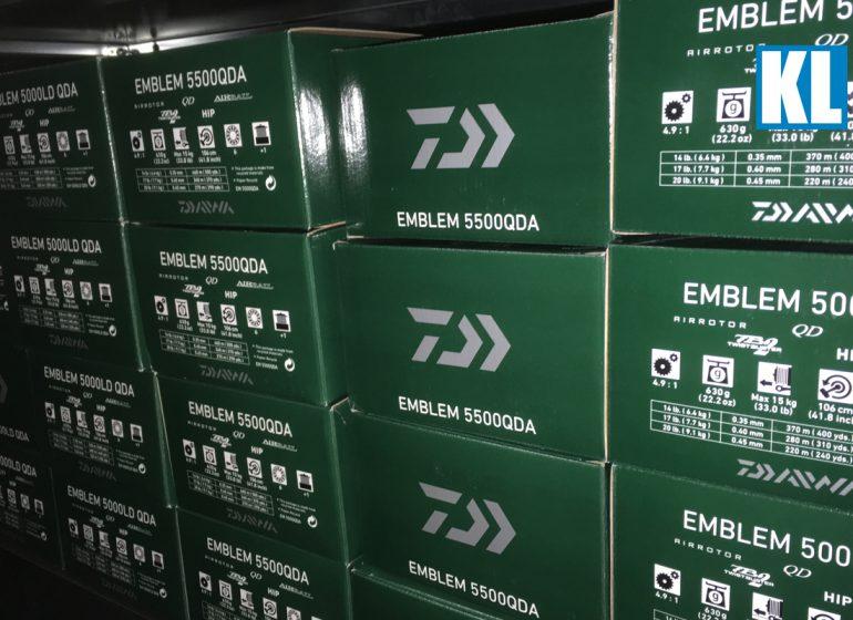 Titelbild KL 770x560 - KL Angelsport Sonderangebot: Daiwa Emblem Rollen!