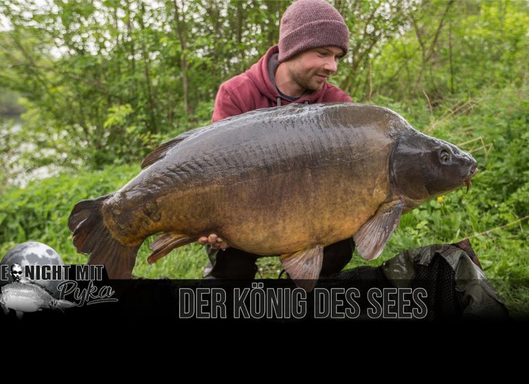 benni pyka 770x560 - Action mit Meik Pyka: Der König des Sees!