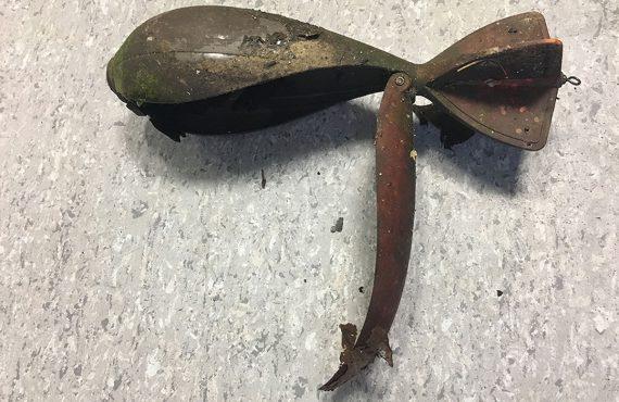 Polizei WilFri 570x370 - Granatenfund – Polizei stellt Futterrakete sicher
