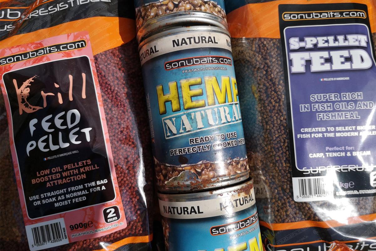 Sonubaits -  - Sonubaits, S-Pellet Feed, Liquid, Krill Feed Pellets, Hemp Natural, Flavour, AngelHAACK