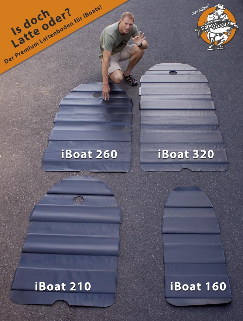 is doch latte oder -  - Schlauchboot, Imperial-Baits, IF Premium, iboat, Böden, Baits