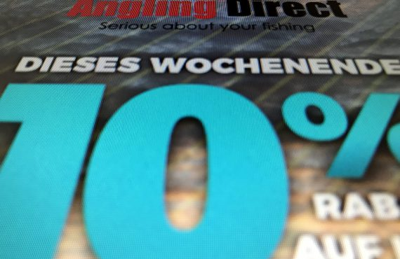 Angling Direct mit Rabattaktion am Weekend