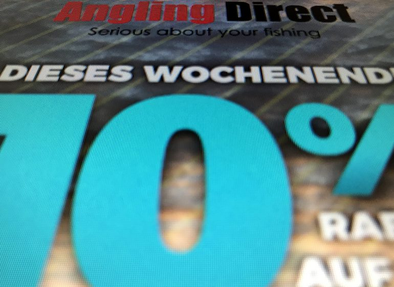 angling 10off 770x560 - Angling Direct mit Rabattaktion am Weekend