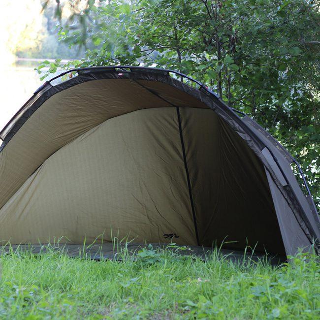 jrc brolly gesamt2 650x650 - Perfekt für Shorties: Das JRC Defender Shelter
